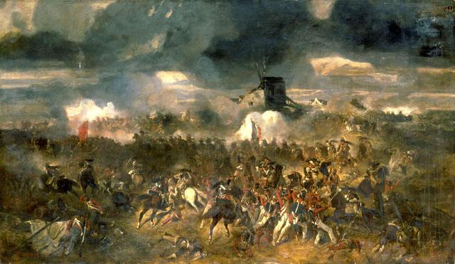 Andrieux - la Bataille de Waterloo