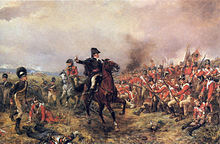 Wellington à Waterloo, par Robert Alexander Hilingford.