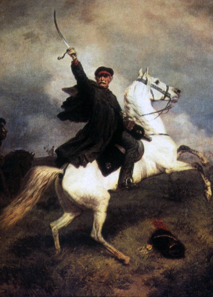 Le feld-maréchal de Blücher en 1815