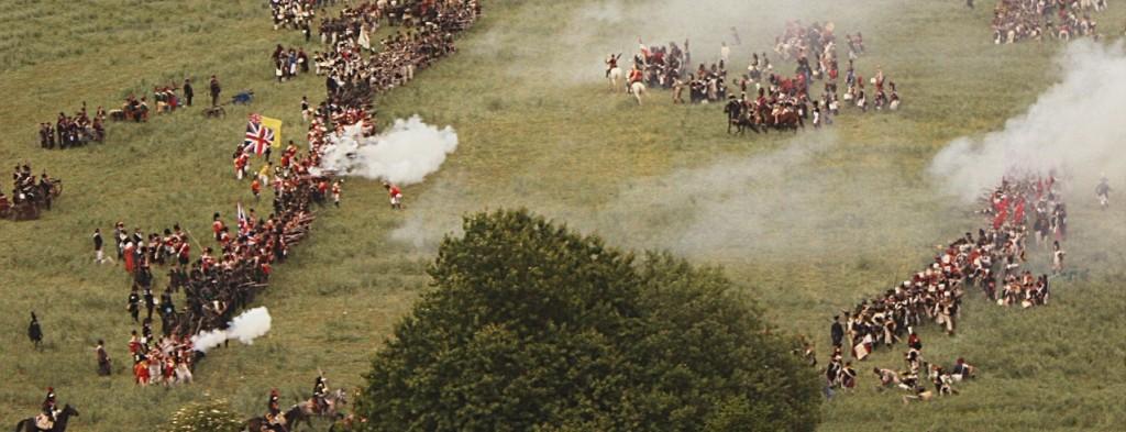 Une reconstitution de la bataille (20 juin 2010)
