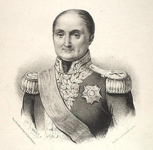 Le maréchal Jérôme à la fin de sa vie.