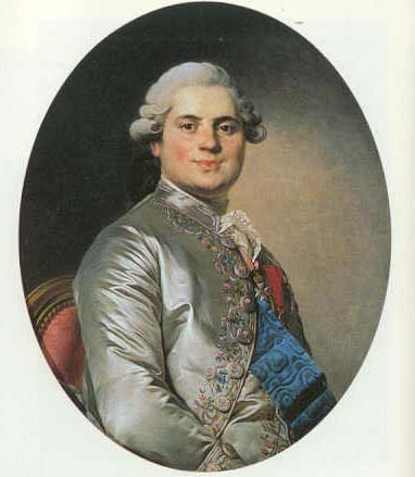 Le comte de Provence jeune.